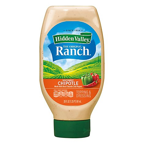 Hidden Valley Ranch Orig Sthwest Chipotl - 20 FZ