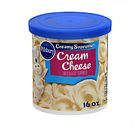Pillsbury Crmy Suprm Crm Cheese Frosting - 16 OZ