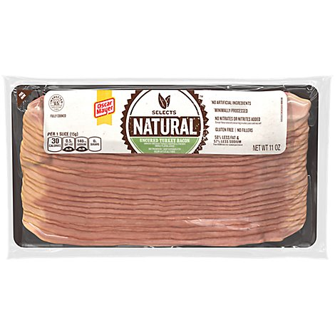 Oscar Mayer Selects Bacon Turkey - 11 OZ