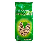 Signature Farms Pistachios Roasted & Salted - 20 OZ