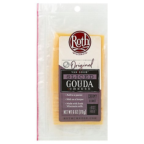 Roth Original Sliced Van Gogh Gouda Cheese - 6 Oz.