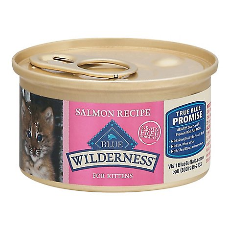 Blue Wilderness Kitten Salmon - 3 OZ