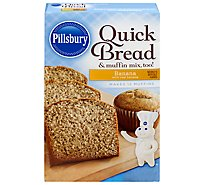 Pillsbury Banana Quickbread Mix - 14 OZ
