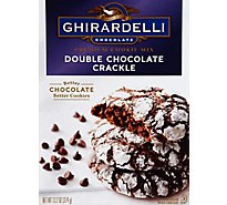 Ghirardelli Double Chocolate Crackle - 13.2 OZ