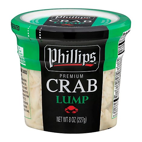 Phillips Lump Crab Meat - 8 OZ