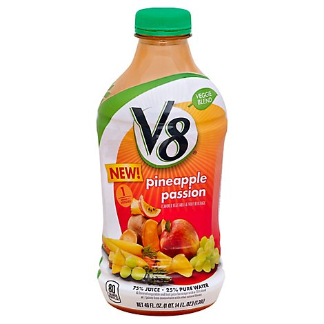 V8 Veggie Blend Pineapple Passion - 46 FZ