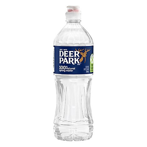Deer Park Natural Spring Water - 23.67 FZ