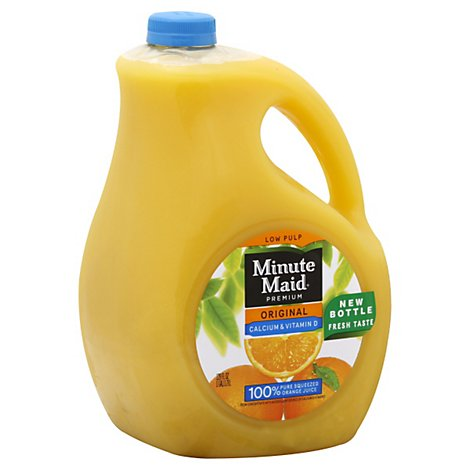 Minute Maid Premium Calcium Fortified Orange Juice - 128 FZ