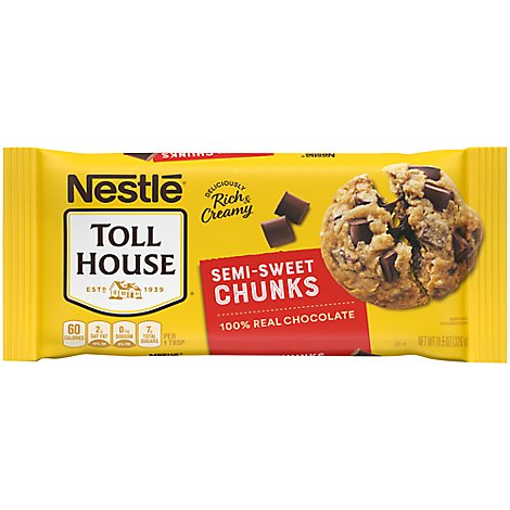 Nestle Baking Chocolate Chunks - 11.5 OZ