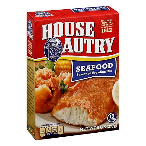House-autry Seafood Breader - 8 OZ