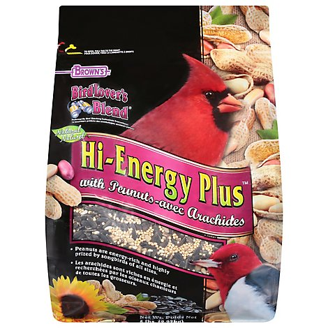 Bird Lovers Blend Hi Energy Plus With Peanuts - 5 LB