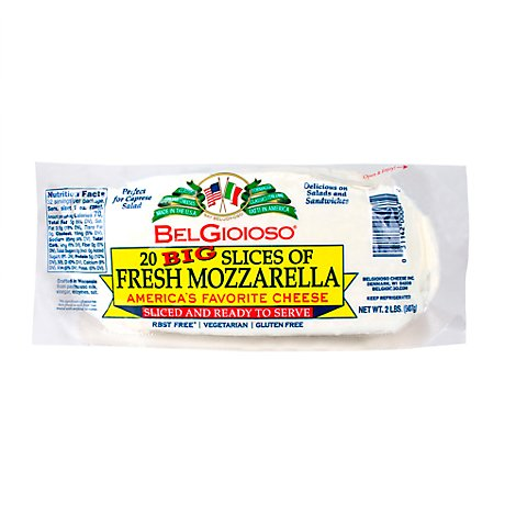 Belgioioso Fresh Mozzarella All Natural Cheese - 32 OZ