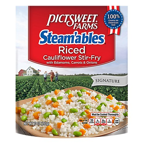Pctswt Riced Caul With Edamameried Rice - 10 OZ