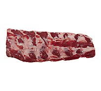 Usda Choice Beef Back Rib Frozen - LB
