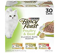 Fancy Feast Cat Food Wet Liver & Chicken - 30-3 Oz