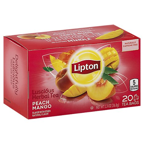 Lipton Specialty Peach Mango - 20 CT