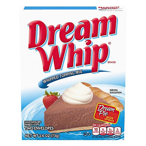 Dream Whip Topping Mix - 2.6 OZ