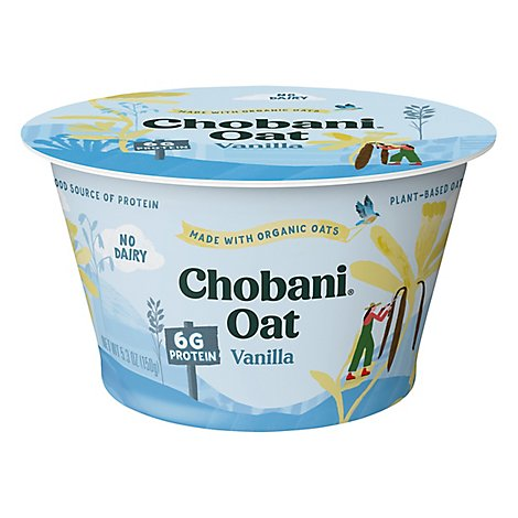 Chobani Oats Blends Vanilla Maple Yogurt - 5.3 OZ
