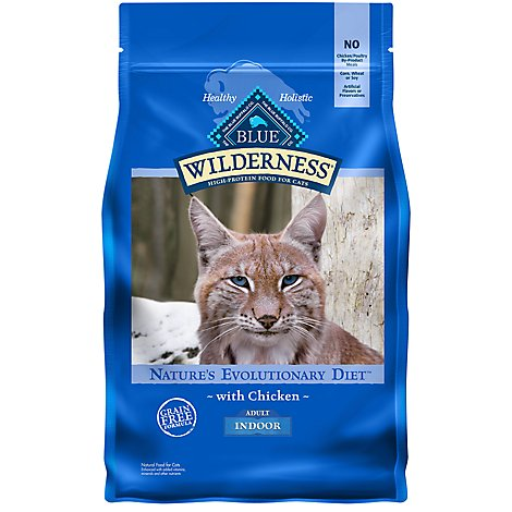 Blue Wilderness Adult Indoor Cat Chicken - 2 LB