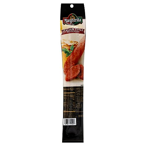 Margherita Pepperoni Single Stick - 7 OZ