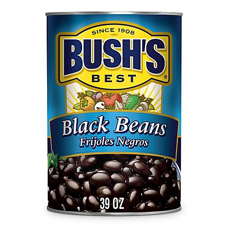 BUSHS BEST Beans Black - 39 Oz