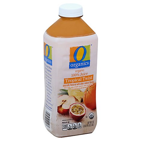 O Organics Organic Juice 100% Tropical Twist - 46 Oz