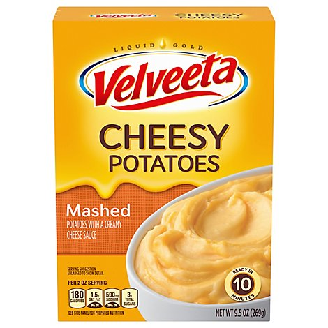 Velveeta Cheesy Potatoes Mashed - 9.5 OZ