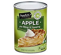 Signature Select Pie Filling Apple - 21 OZ