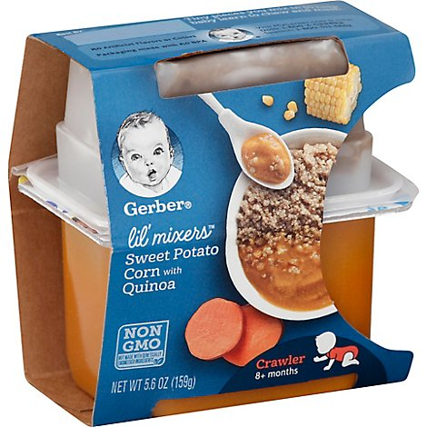 Gerber Lil Mixers Sweet Potato Corn Quinoa - 5.6 OZ