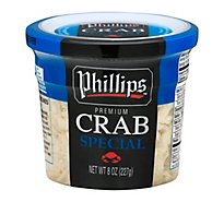 Phillips Special Crab Meat - 8 OZ