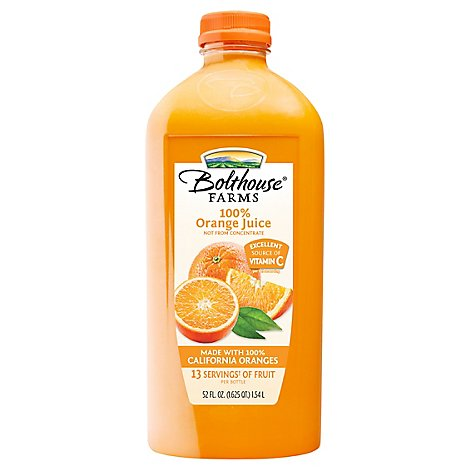 Bolthouse Farms Orange Juice - 52 Fl. Oz.