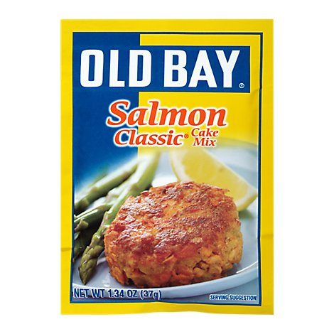 OLD BAY Mix Classic Salmon Cake - 1.34 Oz