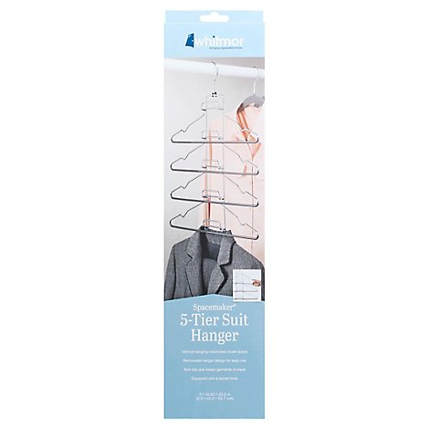 Whitmor Spacemaker Hanger 5 Tier Suit - Each