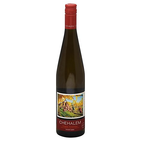 Chehalem Pinot Gris Wine - 750 ML