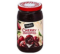 Signature Select Red Cherry Preserves - 18 OZ