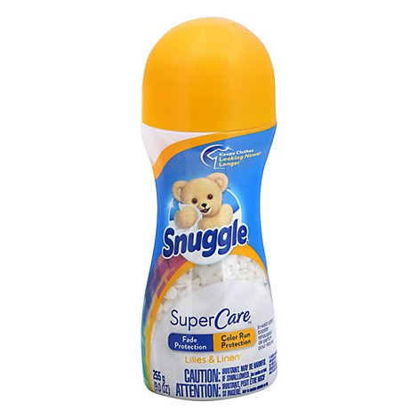 Snuggle Supercare In Wash Scent Booster Lilies & Linen - 9 Oz