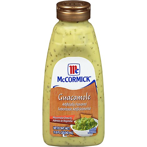 McCormick Salad Dressing Guacamole Artificially Flavored Mayonnaise - 11.6 Fl. Oz.