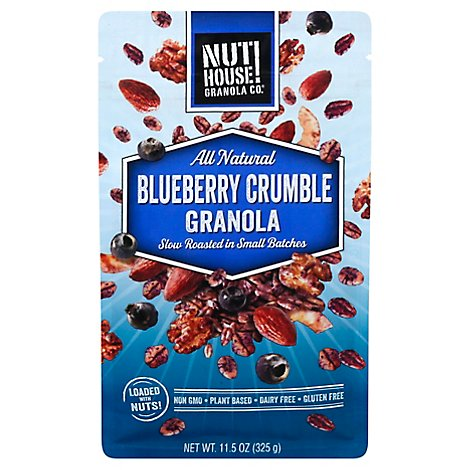 Nuthouse Granola Blueberry Crumble - 11.5 OZ