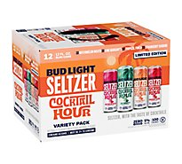 Bud Light Seltzer Ugly Sweater Pack In Cans - 12-12 FZ