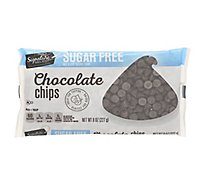 Signature Select Chocolate Chips Sugar Free - 8 OZ