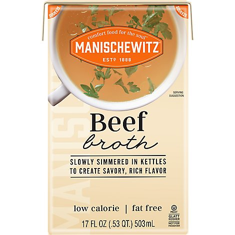 Mani Broth Beef Asceptic - 17 OZ