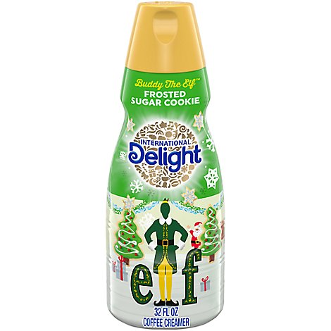 International Delight Creamer Frosted Sugar Cookie Seasonal Item - 32 FZ