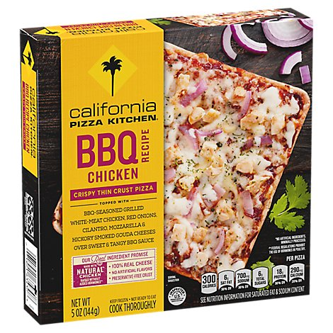 California Pizza Kitchen Bbq Chicken Thin Crust Pizza - 5 OZ