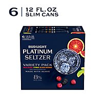 Bud Light Platinum Seltzer Var Pk In Cans - 6-12 FZ