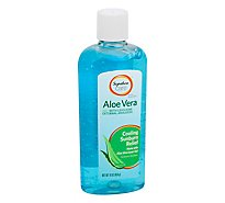 Signature Care Aloe Vera Gel With Lidocaine - 16 OZ