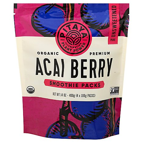 Pitaya Plus Smoothie Acai Pure Org - 14 OZ