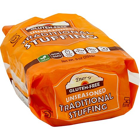 Ener G Foods Stuffing Traditional - 9 OZ