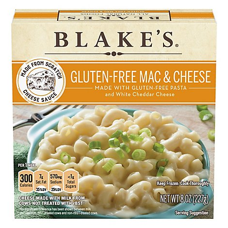 Blakes All Natural Gluten Free Macaroni And Cheese - 8 OZ