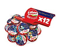 Babybel Original Mini Semi Soft Cheese 12 Count - 9 Oz.