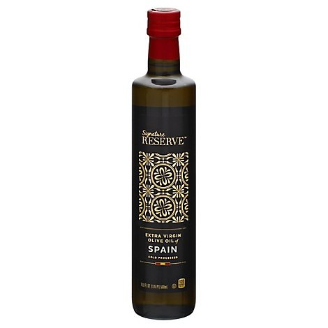Signature Reserve Olive Oil Extra Virgin Of Spain - 16.9 FZ